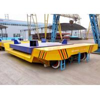 Quality High temperature battery power billet transfer car on steel rails for sale