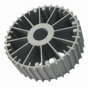 Quality CNC Machining Aluminum Heatsink Extrusion Profiles 6063-T5 For Machines for sale