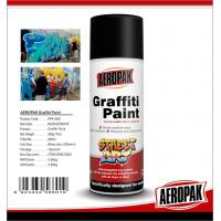 Quality Aeropak Non Toxic Artist Graffiti Spray Paint With Hand Held Pressurized Can for sale