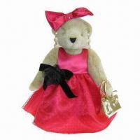 China Toy Bear Clothing/15-inch Fashionable Lady Teddy Bear Outfit on sale