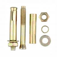 Quality Holding Wedge High Tensile Bolts , M18 Concrete Expansion Anchor Bolt Box Packing for sale