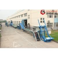 SKF Bearing Plastic PET Bottle Recycling Machine Stainless Steel 304 Optional Color for sale