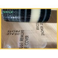 Buy cheap Acrylic Glue Auto Carpet Protection Film Clear PE Adehsive Carpet Protective from wholesalers