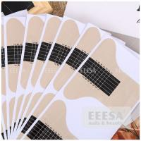 Quality Mini Size DIY Nail Extension Forms For Acrylic Powder UV Gel 7.4*6.2cm for sale