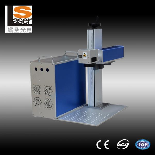 Steel Plates Fiber Laser Marker Machines For Micro Sd