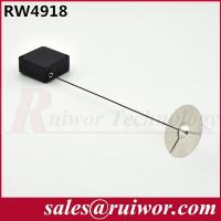 Quality Retractable Plastic Pull Box Square Shaped With Sticky Circular Metal Plate for sale