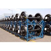 Buy cheap UIC GOST IRS JRS EN railway freight Y25 bogie wheelsets railway passenger coach wheelset railway rolling stock wheelset from wholesalers