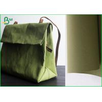 Quality Dark Green 150cm Width Washable Kraft Liner Paper Untear Surface And Fastness for sale