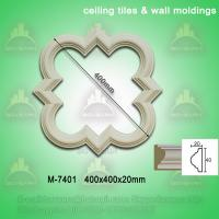 China New style decorative PU ceiling tiles/wall mouldings on sale