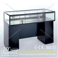 Quality wholesale showcase jewelry display cabinet with led lights for sale