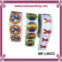 Buy cheap Custom self-adhesive printing roll sticker/Printed labels colorful print vinyl from wholesalers