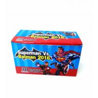 Quality Heroes Series-Superman VS Batman Chewy Candy Looks Clolorful Tastes Sweet for sale
