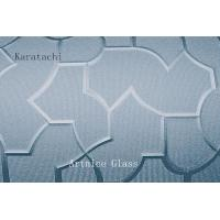 Buy 3mm to 8mm Karatachi Patterned Glass, Rolled Glass, Figured Glass with Certificate ISO and BV at wholesale prices