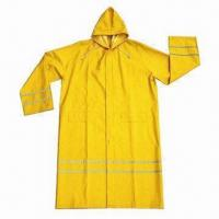 Quality Raincoat, customized logos and colors are accepted for sale