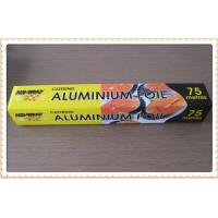 China 99.9% Purity Cooking Aluminium Foil , Food Safety Foil Food Wrapping Paper on sale