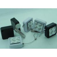Quality Pull Box Retail Display Security Tethers/Non Alarmed Recoilers /32*32mm ABS Square Retractors for sale