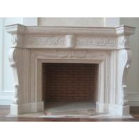 Quality White Decoration Wood Stove Insert, Marble Fireplace for sale