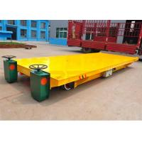 Quality Large container handling wide platform railway transport wagon electric power for sale