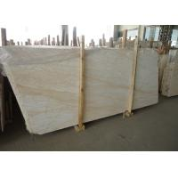 Quality Custom Cut Golden Spider Marble Floor Slabs For Corridor / Balcony for sale