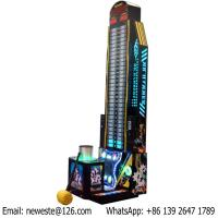 Buy cheap Testing Strength Coin Operated Electronic Hammer Hitting Redemption Tickets Game from wholesalers