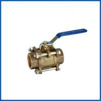 Buy High quality Bronze 3pcs threaded type ball valve with prices at wholesale prices