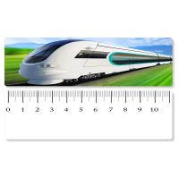 Quality 5.4x31cm High - Speed Train 3D Lenticular Ruler PET Material For Student Stationery for sale