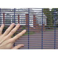 Quality Welded welded wire fence panels for anti climb mesh fence flat plate for sale