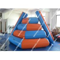 Quality Obstacle Inflatable Water Games / Inflatable Floating Water Slide for lakes for sale