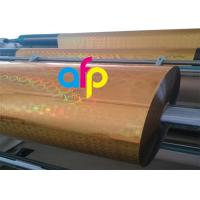 Quality PET Material Holographic Film Thickness 12 Mic - 26 Mic Over 150 Patterns Optional for sale