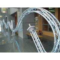 Quality Shape Display Circle Aluminum Truss For Exhibition Stand for sale