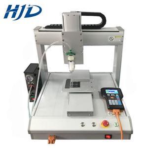Buy cheap LCD Display 3 Axis Desktop Liquid Dispensing Machine For Glue Potting Coating from wholesalers