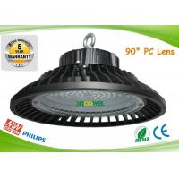 Quality Pure white UFO LED High Bay 145lm per watt exterior energy efficient high bay lighting for sale