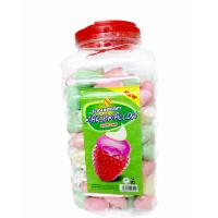 Quality Lovely Strawberry Ice Cream Shape Marshmallow Sweet and Soft for sale