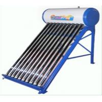 China SUS304-2B Inner Tank Thermosyphon Compact Non-Pressurized Solar Water Heater 80L 10 Tube on sale