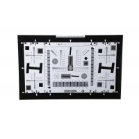 Quality 4x high resolution test chart for cctv camera 2000 lines for sale