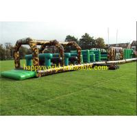 Buy cheap Jungle themed inflatable obstacle course , inflatable playground balloon from wholesalers