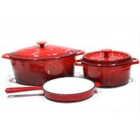 Quality Cooker for Enamel Coated Cast Iron Cookware for sale