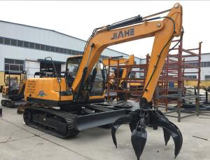 Quality 7 Ton 42.4kw Earth Excavation Machine With 0.28m3 Bucket Capacity for sale
