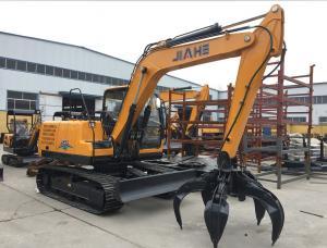 Quality JH65 6 Ton Mini Excavator With 0.21m3 Bucket Capacity , ISO Crawler Excavator for sale