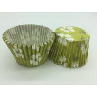 Green White Flower Greaseproof Cupcake Liners Disposable Mini Baking Tools Cake Decoration