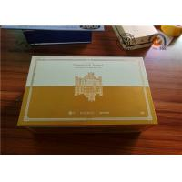 Quality Rigid Paper Flip Cardboard Handcrafted Gift Boxes Pantone & CMYK Color for sale