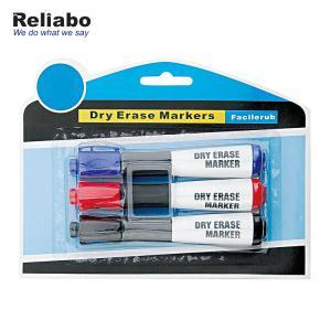 China Chisel Tip Whiteboard Marker Pen , Mini Whiteboard Pens Promotional Pen Body Type on sale