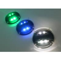 Quality Active Solar Road Markers Reflectors Traffic Central LED Studs SRS01100B for sale