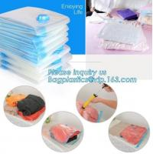 China vacuum storage bag set, plastic nylon pe vac bag for travel, Ziplockk clothes storage bags vacuum, bagplastics, bagease on sale