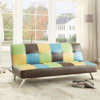 Quality Colorful Fold Up Sleeping Sofa Bed Office , Living Room Hideaway Bed Couch 22kg for sale