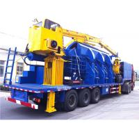 Quality 110KW Scrap Aluminum Alloy Portable Baler , Hydraulic Baling Machine for sale