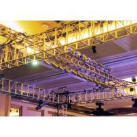 Buy cheap large aluminum concert lightting truss for large event stage trusses system dj from wholesalers