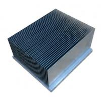 Quality Clear Alodined Aluminum Heatsink Extrusion Profiles 6063-T5 For Industry for sale