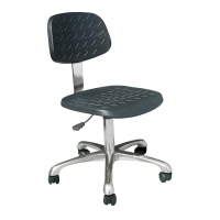 Quality Chrome Metal Leg 60cm Width 430*400mm ESD Chairs for sale