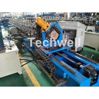 Quality Guiding Column Forming Structure Hat Profile Cold Roll Forming Machine For 15KW Motor Power for sale